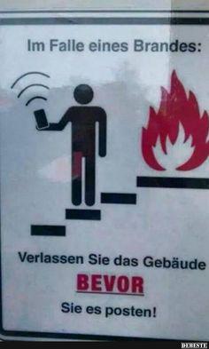 Im Falle eines Brandes..