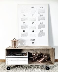 Calendar , design by AnnieDOX