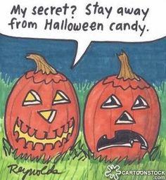 Dentaltown - My secret? stay away from Halloween candy.