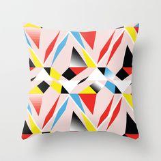 POP Art Throw Pillow by Floorb - $20.00