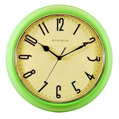 I pinned this Ashton Sutton Retro Wall Clock from the Four Leaf Clover Finds event at Joss & Main!