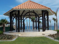 Beacfront Wedding Gazebo at Secrets Puerto Los Cabos