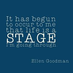 Life is a stage. Emotional Disorders, Stress Disorders, Positive Messages, Thoughts And Feelings, Spiritual Growth, Self Esteem, Demons, Counseling, Life Lessons