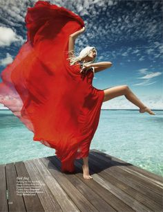 An Insane photoshoot:  Jessiann Gravel-beland by Luis Monteiro, for vogue india may 2012