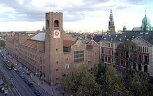 Borsa di Amsterdam.  Arch: Hendrik Petrus Berlage