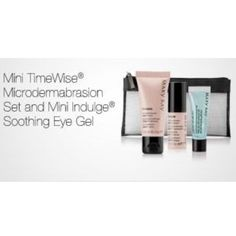 Mini Microdermabrasion & Indulge Soothing Eye Gel *Brand new in the bag!* Try the mini Microdermabrasion set before you purchase the full size! This set also comes with a sample bottle of the Mary Kay Soothing Eye Gel. ***Do not purchase this listing. I have 4 sets in stock so if you're interested, please comment below with how many sets you would like or with an offer on the price.*** Mary Kay Other