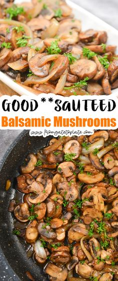 Balsamic Mushrooms, Unique Recipes, Easy Healthy Recipes, Low Carb Recipes, Kids Meals, Easy Meals, Stuffed Mushrooms, Weight Watcher Dinners, Recipe Share