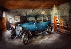 Car - Grandpa's Garage - Photography by Mike Savad