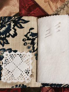 Needle book needle case Shabby Chic Victorian Girl by MyIrishGypsy