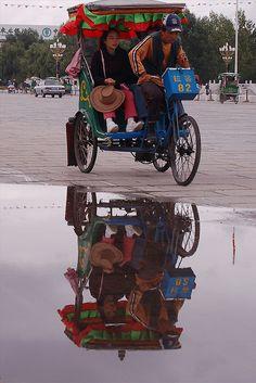 TRANSPORTE EN LHASA, TIBET |||  Transportation Lhasa Tibet