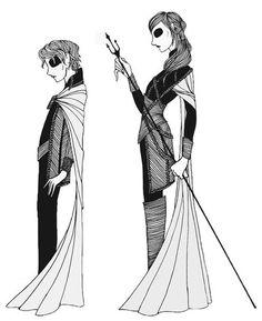 Hogan McLaughlin Game of Thrones Fanart Drawings |Jojen and Meera Reed