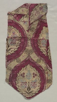Ottoman Textile Fragment.  16th Cent.  (Cleveland Museum of Art)