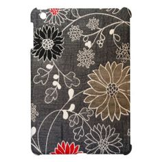 ==> consumer reviews          Faux floral textile with red, brown, white flowers case for the iPad mini           Faux floral textile with red, brown, white flowers case for the iPad mini In our offer link above you will seeDiscount Deals          Faux floral textile with red, brown, white ...Cleck Hot Deals >>> http://www.zazzle.com/faux_floral_textile_with_red_brown_white_flowers_ipad_mini_case-256913446551926614?rf=238627982471231924&zbar=1&tc=terrest