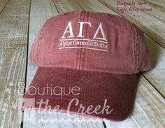 Alpha Gamma Delta Sorority Baseball Cap for by BoutiqueByTheCreek