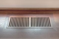 Drop-In vs. Flush-Mount Wood Floor Vents