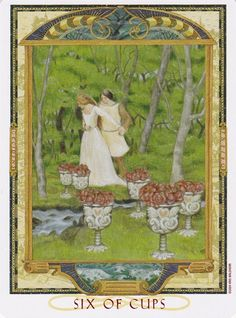 Lover's Path Tarot - 6 of Cups
