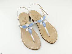 Dea Sandals Capri handmade jewel sandals them ideal for all-day