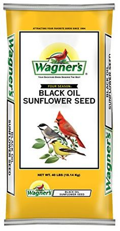Wagners 76029 Black Oil Sunflower Seed 40Pound Bag >>> You can find more details by visiting the image link.