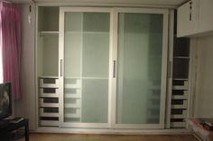 guarda roupa porta vidro jateado - Pesquisa Google