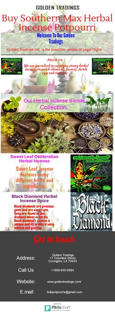 We are specialized in supplying strong herbal incense, research chemicals, parrots, fertile eggs and tortoises. Our special incense products are very famous and produce high quality aroma which will be very helpful for relaxing your body and will give peace to your mind.