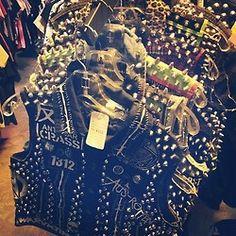 Search $$$ Destroy  (at Search & Destroy) #punk #studs #vest