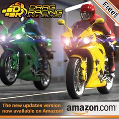 Drag Racing: Bike Edition brings the thrill of realistic motorcycle physics to your mobile device! #dragbike #racinggame #motorcycle #android #ios