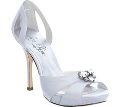 Jen + Kim Passion - White Silk - Free Shipping & Return Shipping - Shoebuy.com