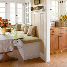 Beau Corner Kitchen Bench Table   Google SearchI Love This Look So Much And My  Kitchen Is