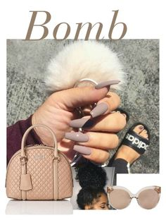 A manicure is a cosmetic elegance therapy for the finger nails and hands. A manicure could deal with just the hands, just the nails, or Nude Nails, Matte Nails, Gel Nails, Nail Nail, Beige Nails, Black Manicure, Kiss Nails, Neutral Nails, Nail Polishes
