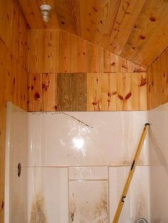 free-junk-shower-reclaimed-for-cabin-bathroom