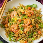 Shrimp Quinoa Fried Rice | Cooking Classy