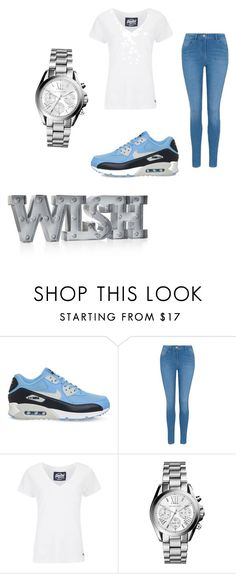 """""""going down on a tuesday"""" by sexybadbitches on Polyvore featuring NIKE, George, Superdry, Michael Kors and Whimsical Shop"""