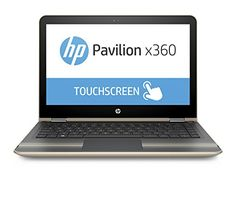 "nice HP Pavilion x360 13-u003ns - Portatil de 13,3"" (Intel Core i3-6100U, memoria RAM de 4 GB, disco duro de 500 GB, Windows 10), oro moderno - Teclado QWERTY Español"