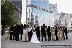 NEWLY WEDDED COUPLES MIDDLE-FINGERED F*CK TRUMP TOWER TO SHOW THEIR OPPOSITION TO DONALD TRUMP…