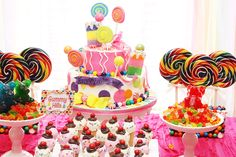 What a great idea for a Candyland themed party!