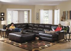 A brilliant design and trendy style make this handsome sectional a staple addition in your home. A versatile build and attractive convenience make this sectional the perfect place to lounge after a long day.