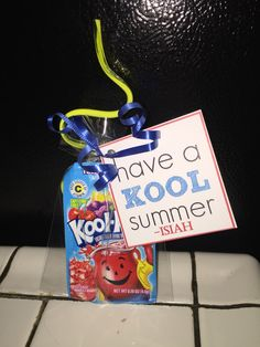 #DIY #KoolAid #EndOfYearGift #HaveaKoolSummer