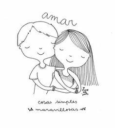 Flor de Jopo Mein Job, Bible Drawing, Kawaii Faces, Cute Doodles, Love S, Easy Drawings, Cute Girls, Cross Stitch, Artsy