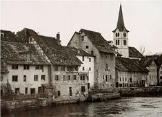 Photobibliothek.ch - Bombardierung der Brücke Diessenhofen 1944 Mansions, House Styles, Manor Houses, Villas, Mansion, Palaces, Mansion Houses, Villa