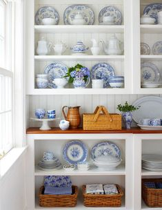 Blue & White Porcelain Collection