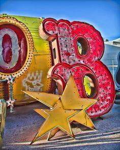 want to go here & take photos some day .....  Neon Boneyard, Las Vegas