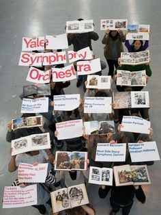 Hilla Kakti (MFA 2009) and Mary Voorhees Meehan (MFA 2009) Yale Symphony Orchestra Poster, 2007