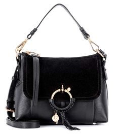 See By Chloé Joan Small leather and suede crossbody bag