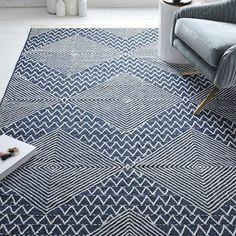 Traced Diamond Kilim Rug, 75% wool, 25% cotton, handwoven,  $149-$929
