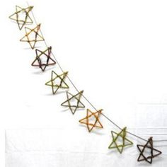NEW! Large willow star bunting