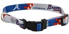 Braves dog collar