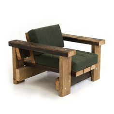 Challenge Your Craft Skills With These Wood Project Plans. Visit Us For More Wooden Chair Ideas How To Build Pallet Furniture, Diy Furniture Chair, Diy Outdoor Furniture, Furniture Design, Upcycled Furniture, Furniture Stores, Wooden Chair Plans, Chair Design Wooden, Parsons Dining Chairs