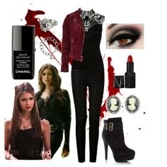 """Vampire Diaries-Katherine"" by mcatwong21 on Polyvore"