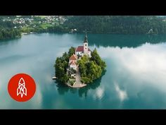 (10) In the Slovenian Alps, an Island on an Emerald Lake Beckons - YouTube