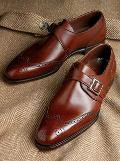 A perfect combination. Monk strap with wingtips.